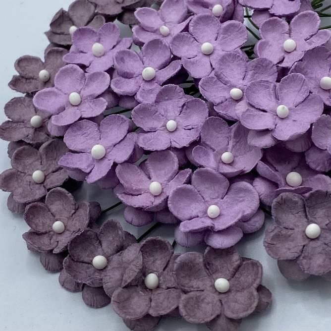 Bilde av Søte blomster, vintage rosa