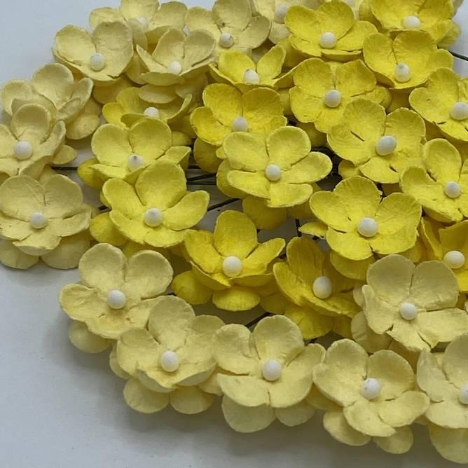 Bilde av Søte blomster, Gul (6)